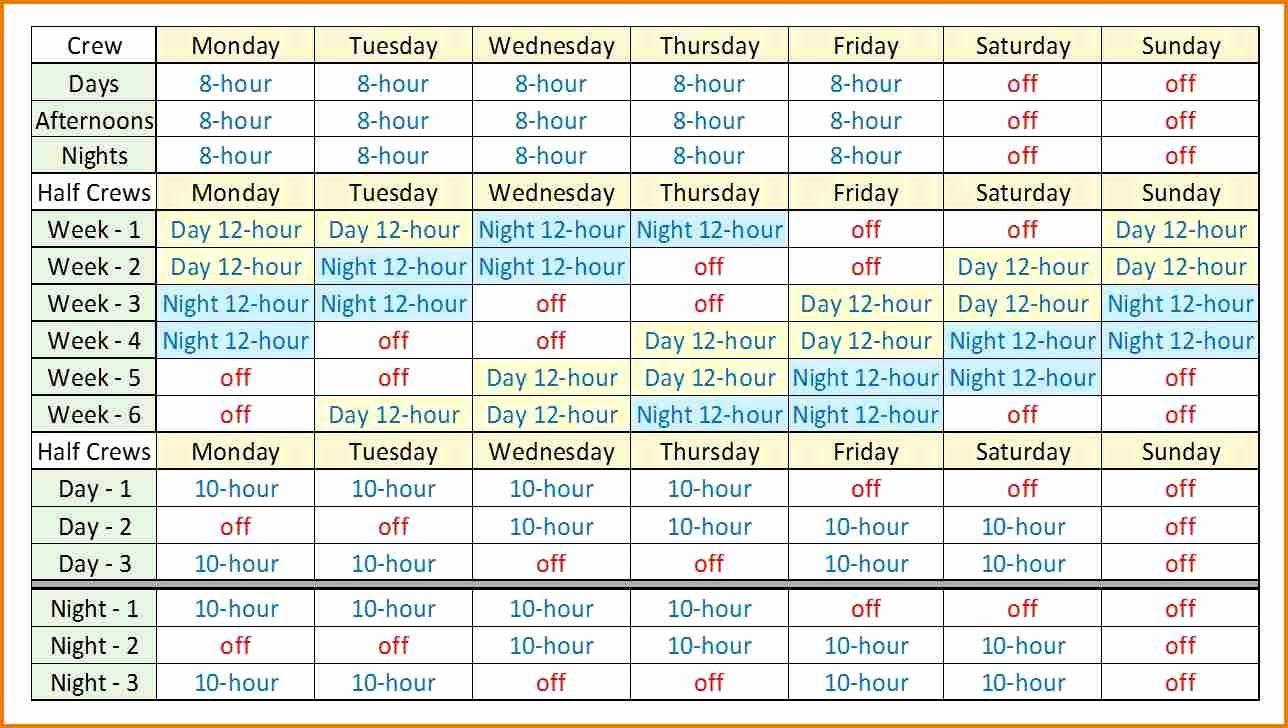 12 Hour Shift Schedule Template Elegant 12 Hour Shift Schedules Template Excel Calendar Shift Schedule Calendar Template Schedule Templates