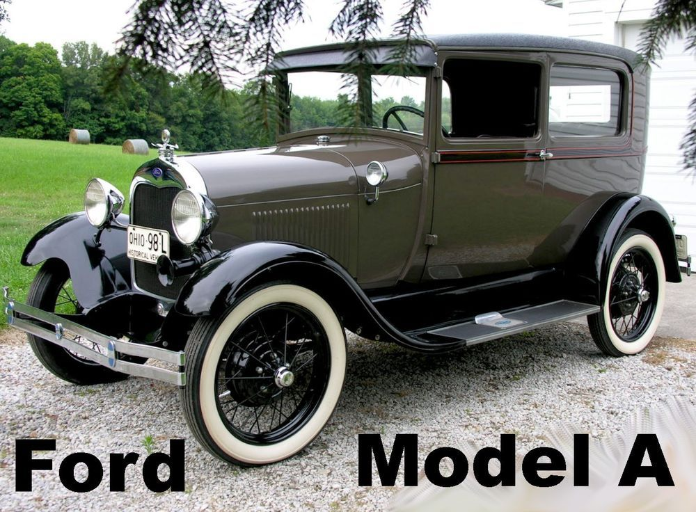 Ebay 1929 Ford Model A Tudor Same Family For The Last 53 Years 1929 Ford Model A Tudor Sedan Restored Wow Stock Classiccars Cars Ford Models Ford Model