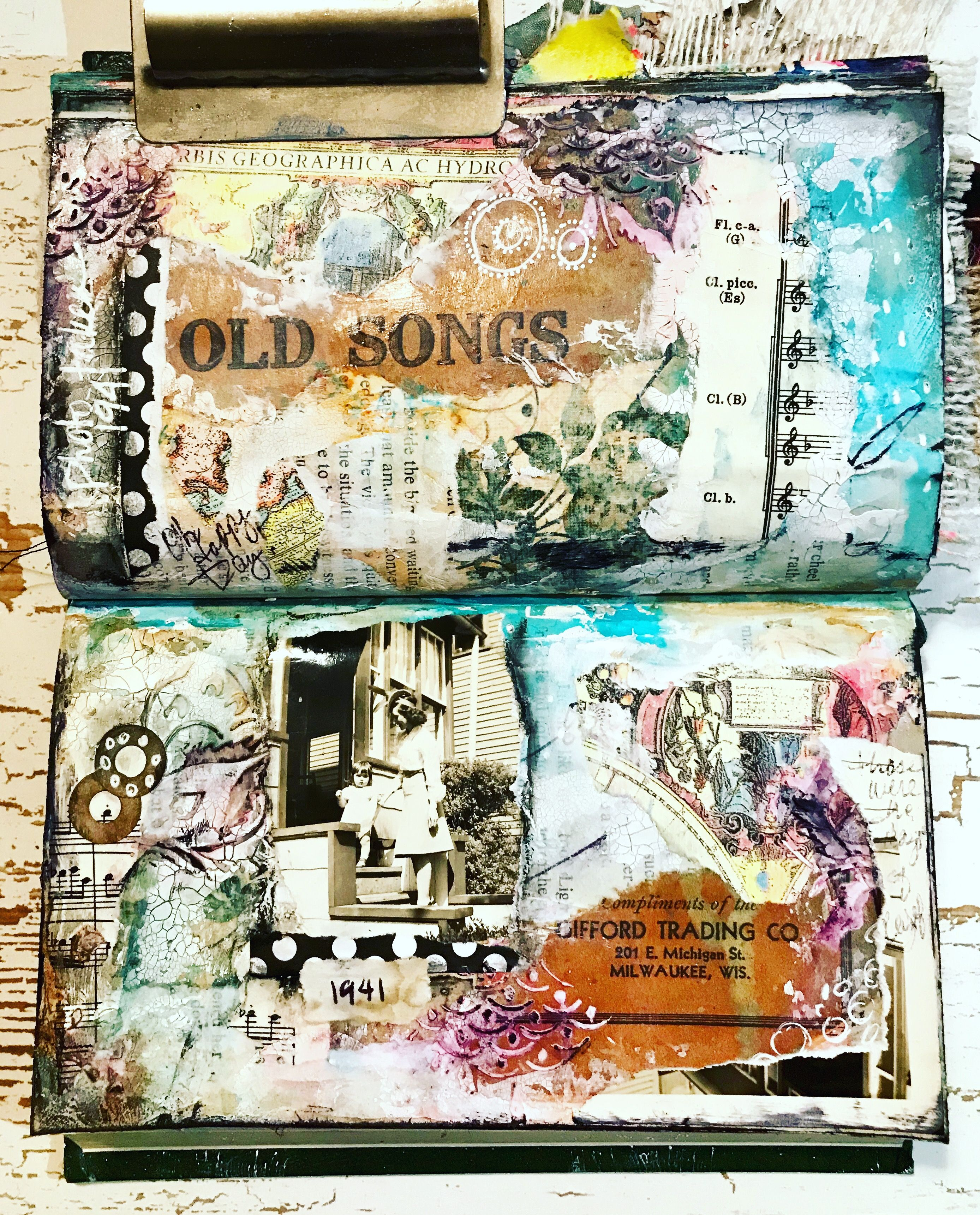 Lesley Iverson Paintbyles Instagram Art Journal Art Vintage