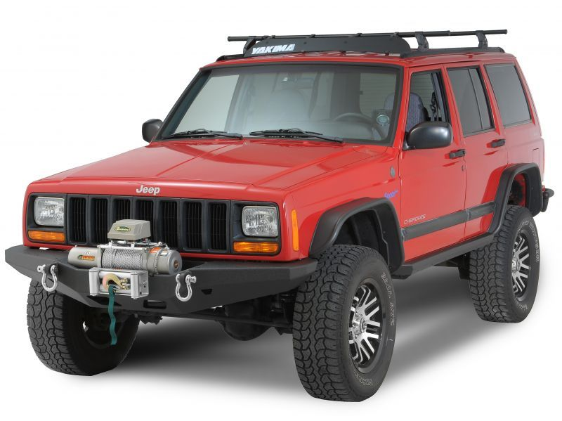 Smittybilt 76810 Xrc Multi Optional Design M O D Front Bumper For 84 01 Jeep Cherokee Xj Jeep Cherokee Jeep Winch Bumpers