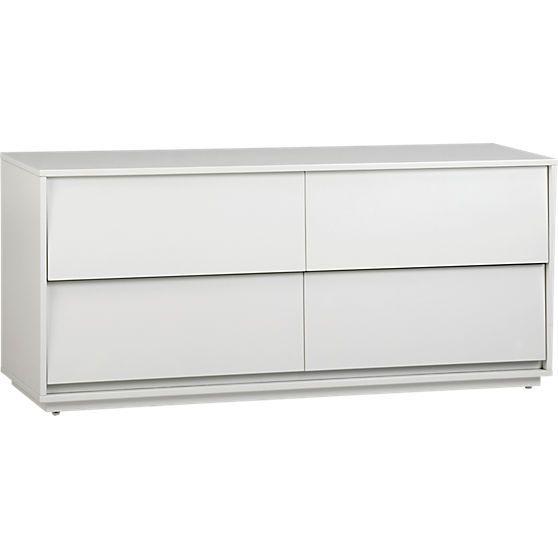 Shake Low Dresser In Storage Cb2 Low Dresser Modern Dresser Storage Furniture Bedroom