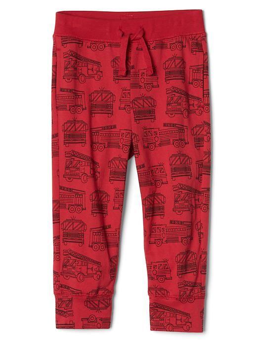 Print Knit Pants