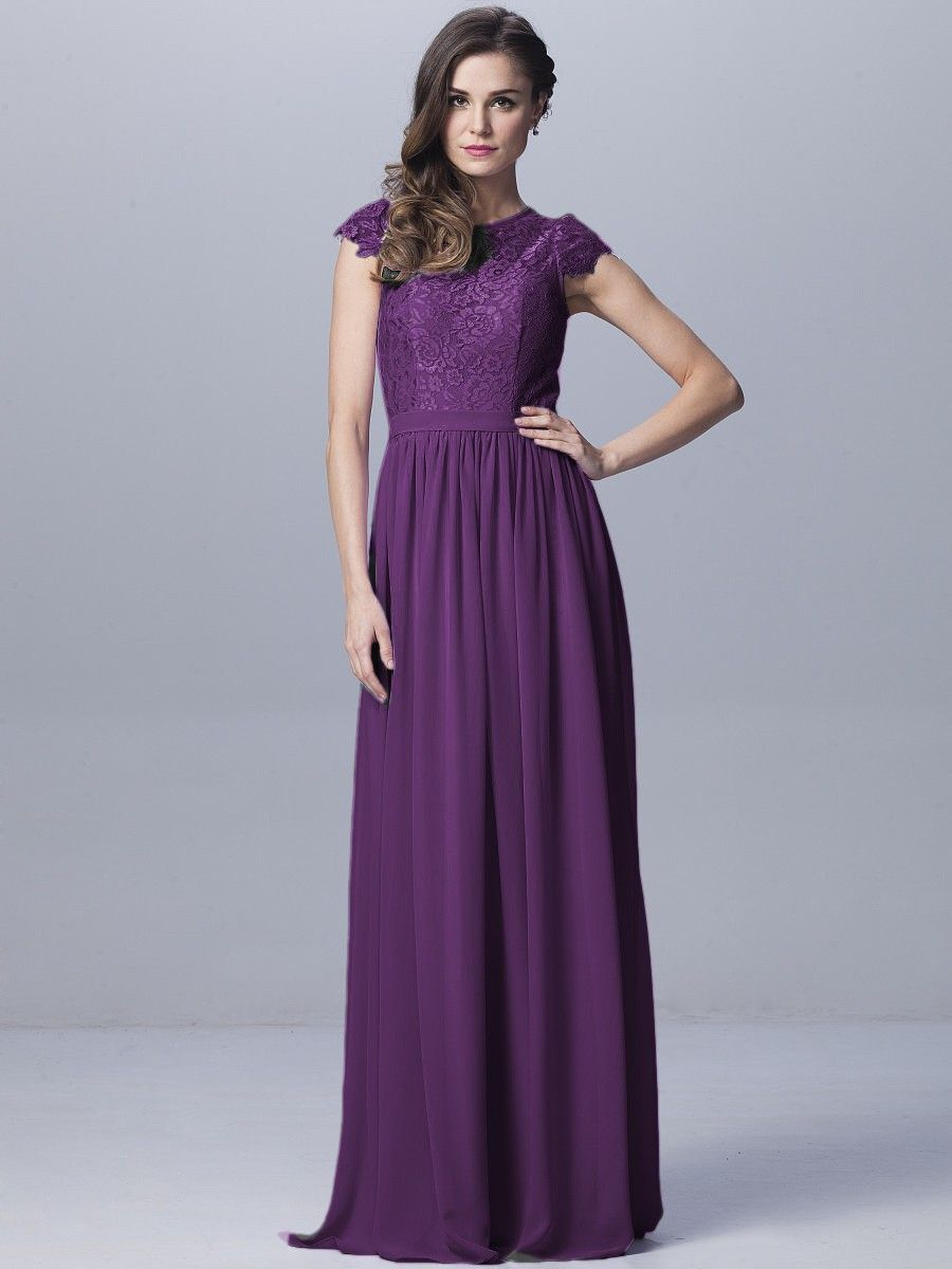 Convertible Chiffon Bridesmaid Dress - mixbridal.com | dresses ...