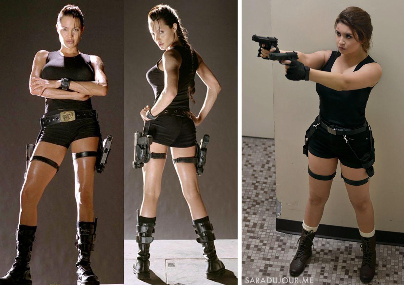 Lara Croft Tomb Raider Halloween Costume Cosplay Sara Du Jour Popular Halloween Costumes Most Popular Halloween Costumes Creative Halloween Costumes