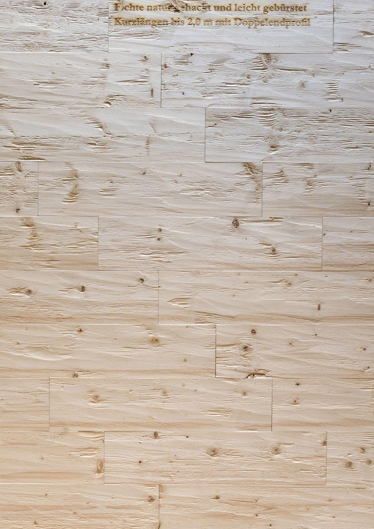 Rustikale Wandverkleidung Fichte Gehackt Geburstet Vintage Holz In 2020 Wandverkleidung Altholz Wandverkleidung Vintage Holz
