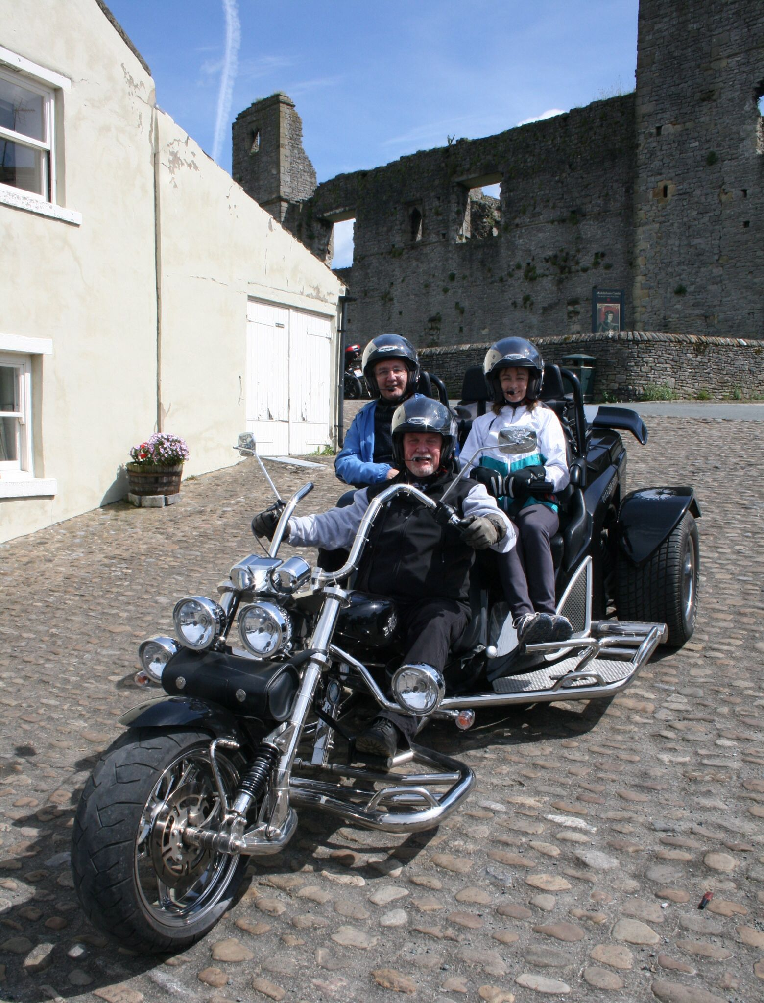 Enjoying, really enjoying, really really enjoying my day job. Yorkshire Trike Tours Chauffeur Tour Guide. www.yorkshiretriketours.co.uk