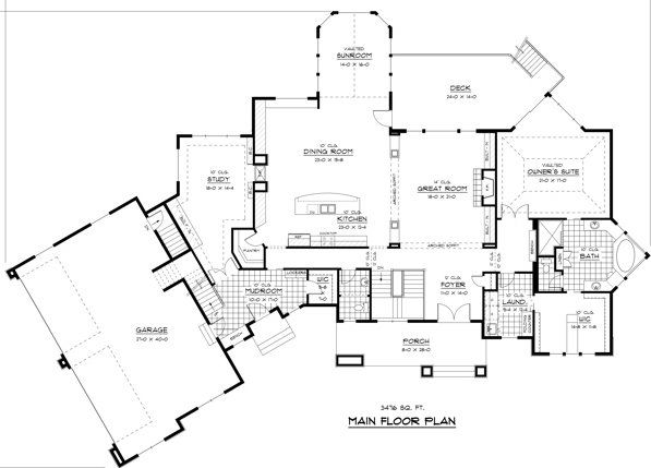 17 Best 1000 images about House Floor Plans on Pinterest Craftsman