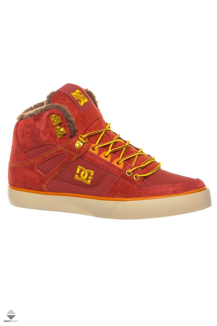 Buty Dc Shoes Spartan High Wc Wnt Brown Adys400005 Bww Dc Shoes Shoes Dc Sneaker