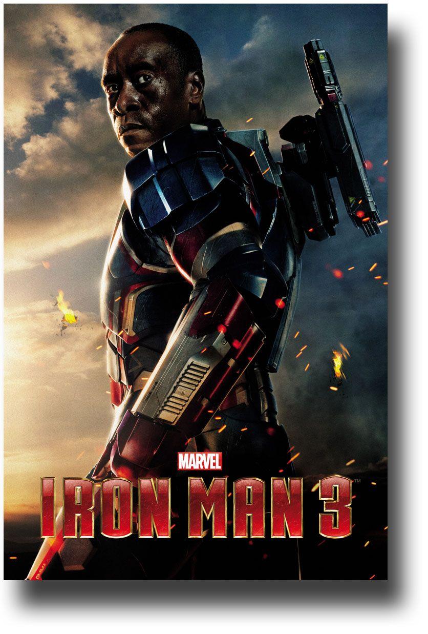 Iron Man 3 Poster Iron Patriot 9 84 Ironman3 Ironpatriot Doncheadle Iron Man 3 Poster Iron Man Iron Man 3