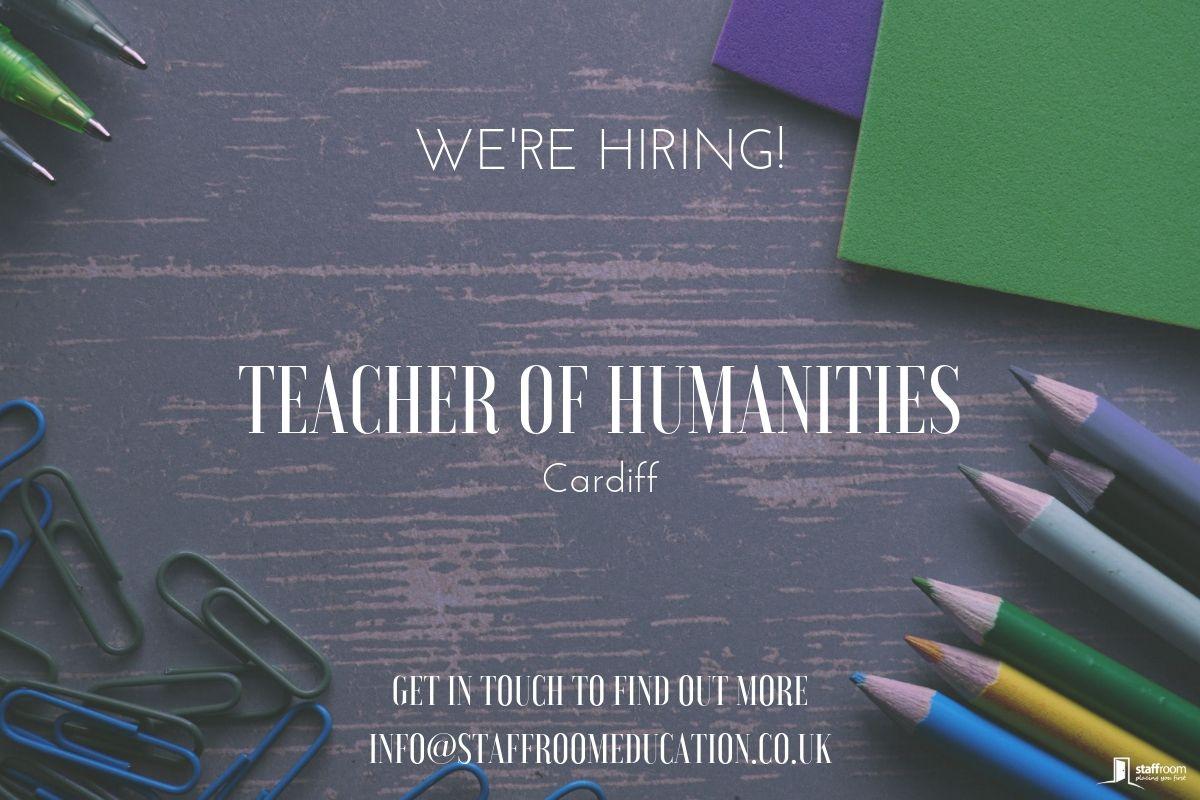 Humanities Teacher Needed — Staffroom Education