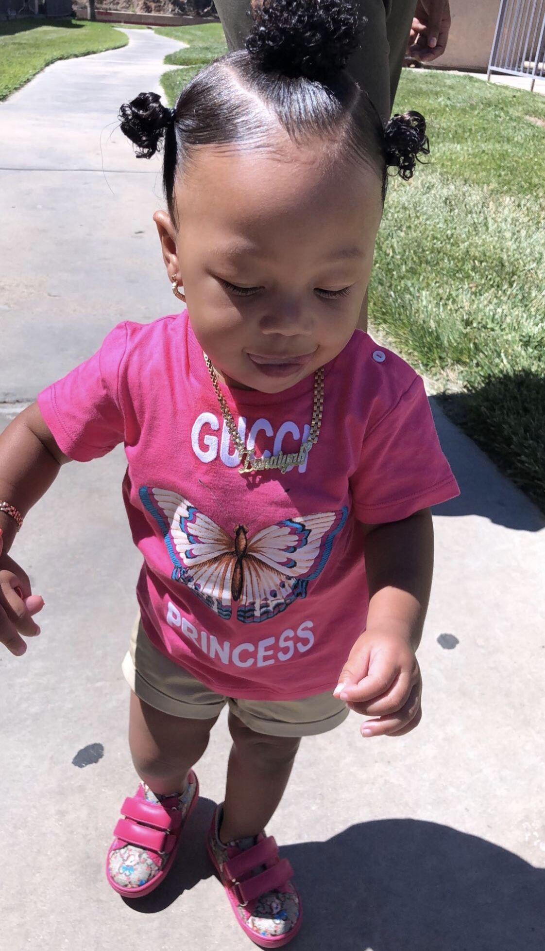 Pin By Deedee On Kid Hair Styles Black Baby Girl Hairstyles Baby Girl Hairstyles Black Baby Hairstyles