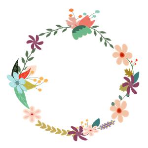 Vintage Floral Wreath Clipart Cliparts Of Vintage Floral Wreath Free Download Wmf Eps Wreath Clip Art Watercolor Flower Wreath Floral Wreaths Illustration