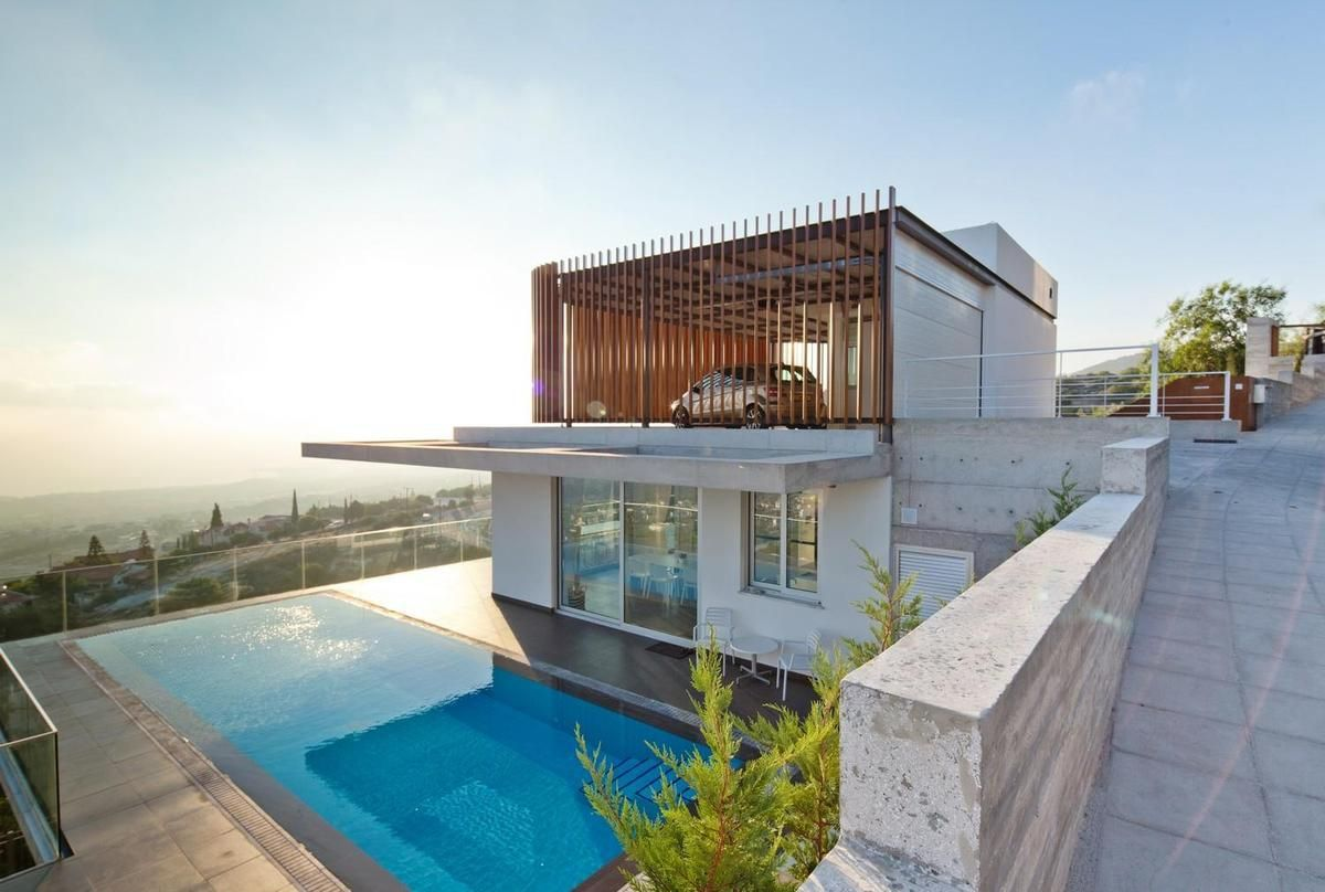 Best Kitchen Gallery: Story Modern House Designs Ocean House Design Ideas Steep Slope of Modern Home Base Of Steep Hillside on rachelxblog.com