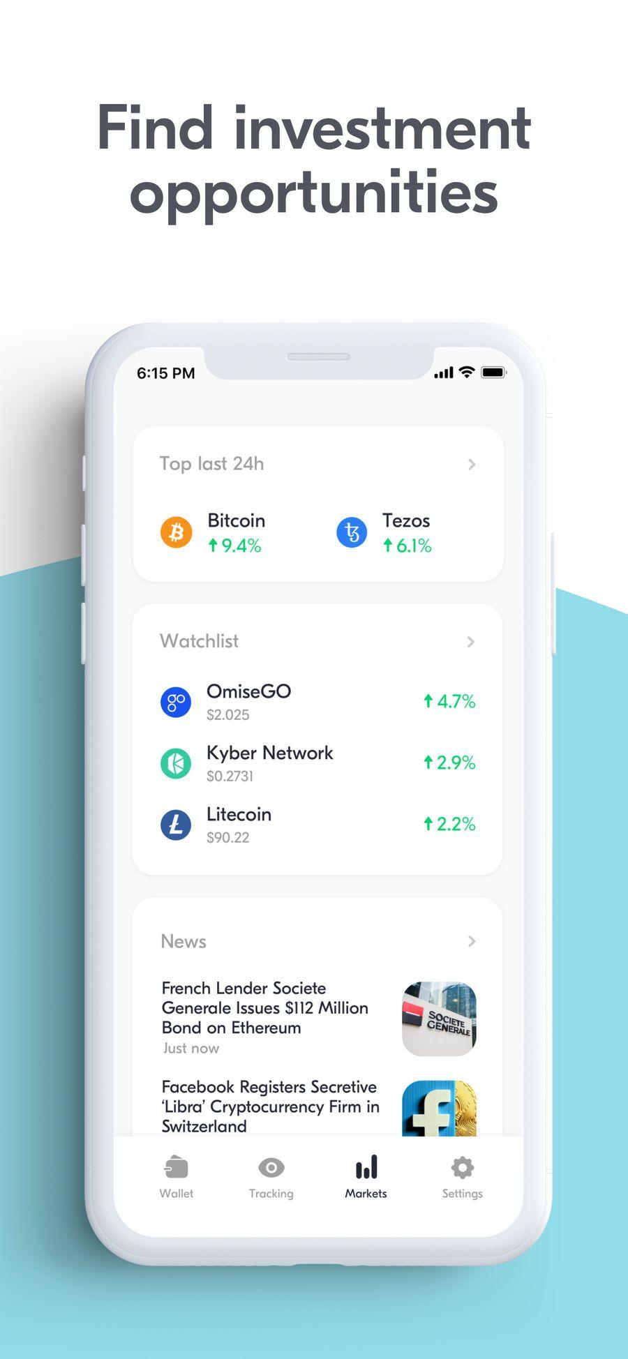 Bitcoin Wallet Spot Crypto on the App Store Societe