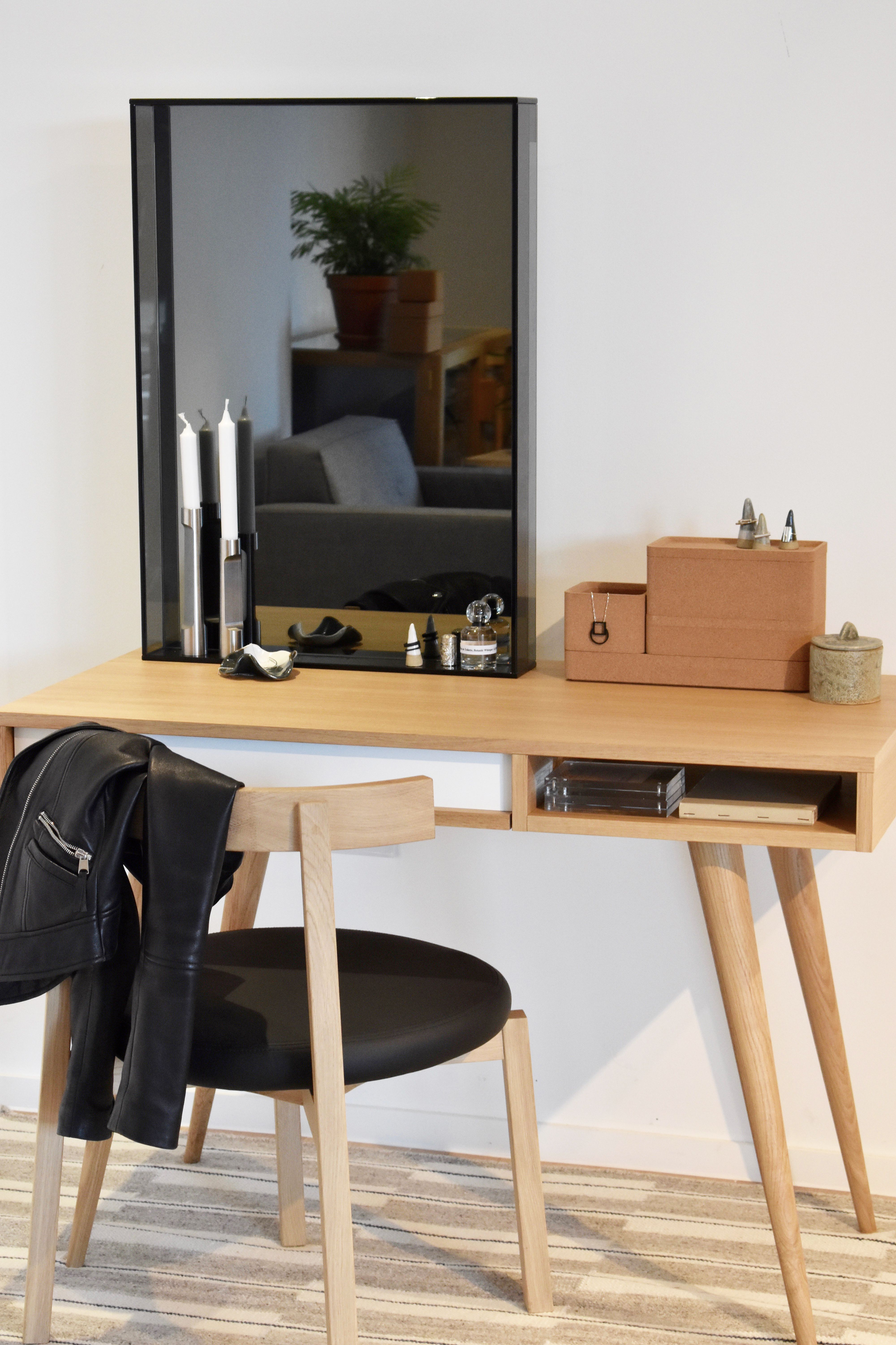 The Plain Wood Table A Tribute Home Office Space Home Office