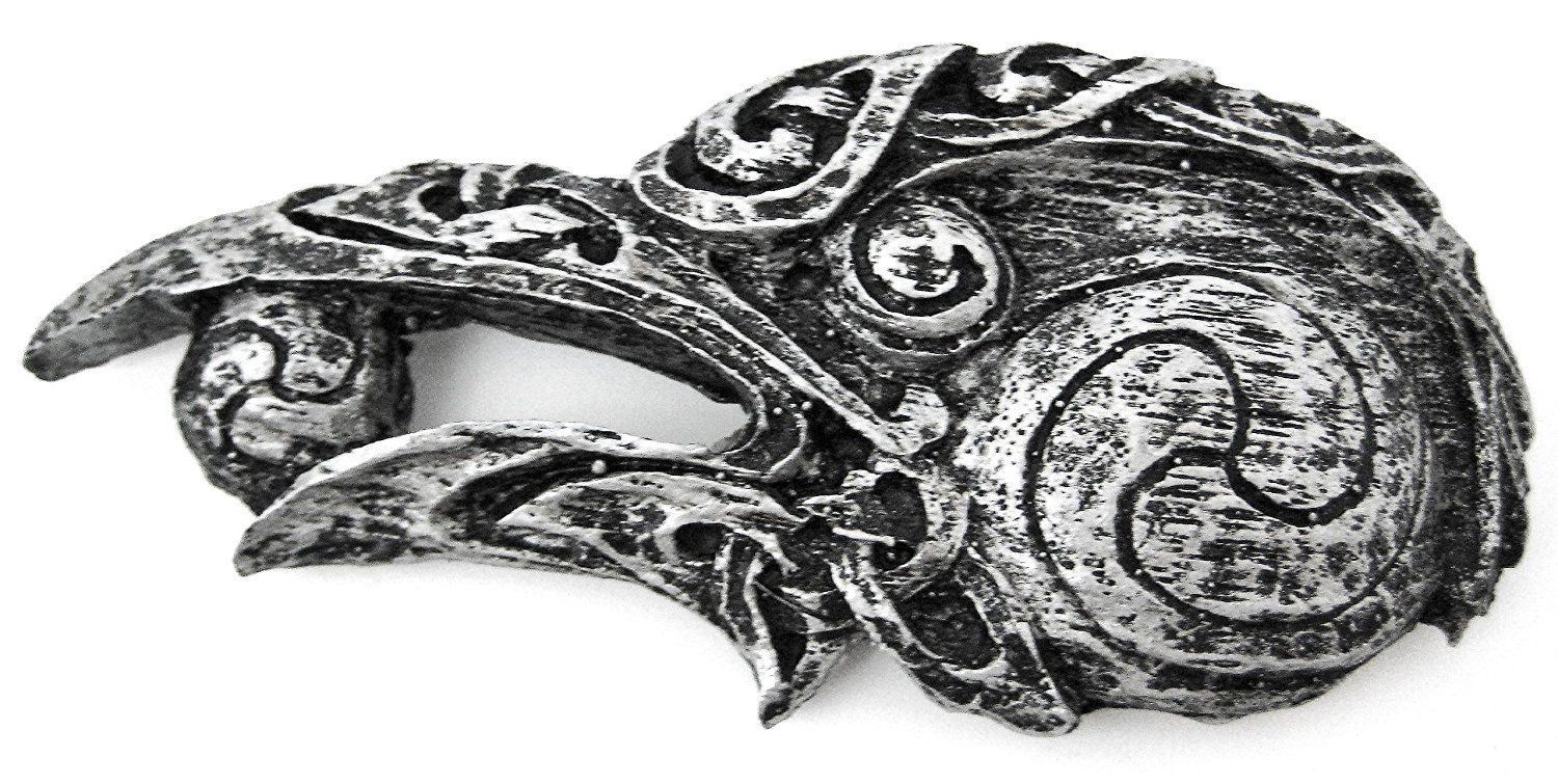 Small celtic raven head wall plaque hanging check out this great