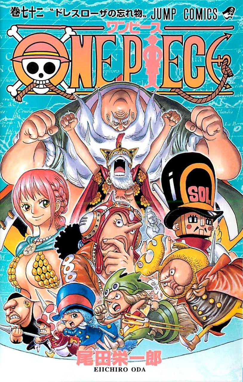 One Piece Volume 72 One Piece Anime Manga One Piece One Piece
