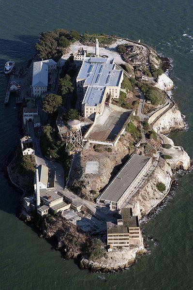 Tourist Destinations Of The Us Alcatraz Island National Monument