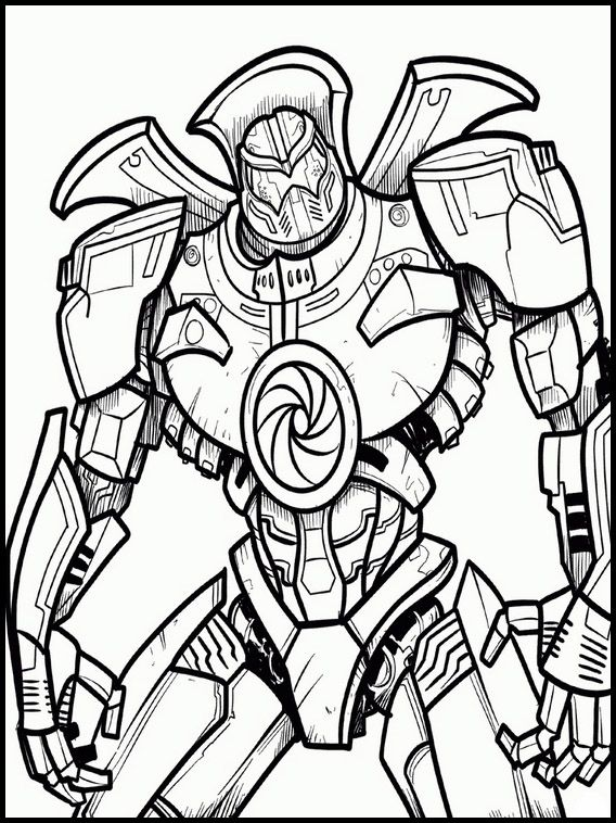 Voltron Legendary Defender 4 Printable Coloring Pages For Kids Coloring Pages Pacific Rim Pacific Rim Kaiju