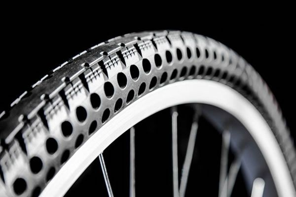 A New Airless Bike Tire Could Make Bike Flats A Thing Of The Past