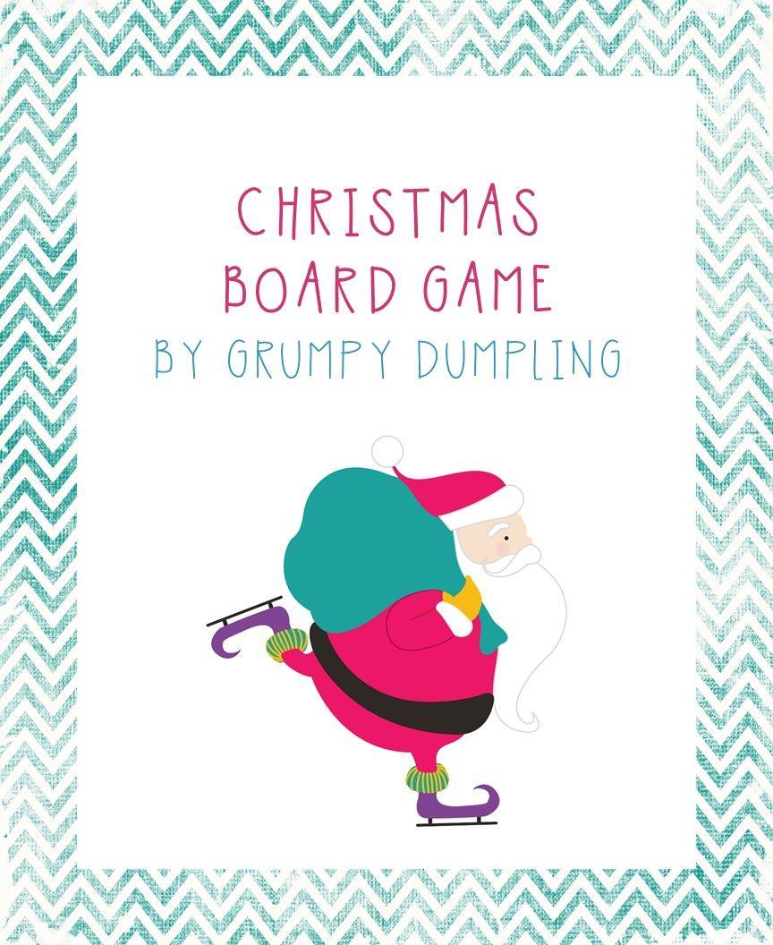 Christmas Board Game {K, 1st, ESL, EFL} (With images