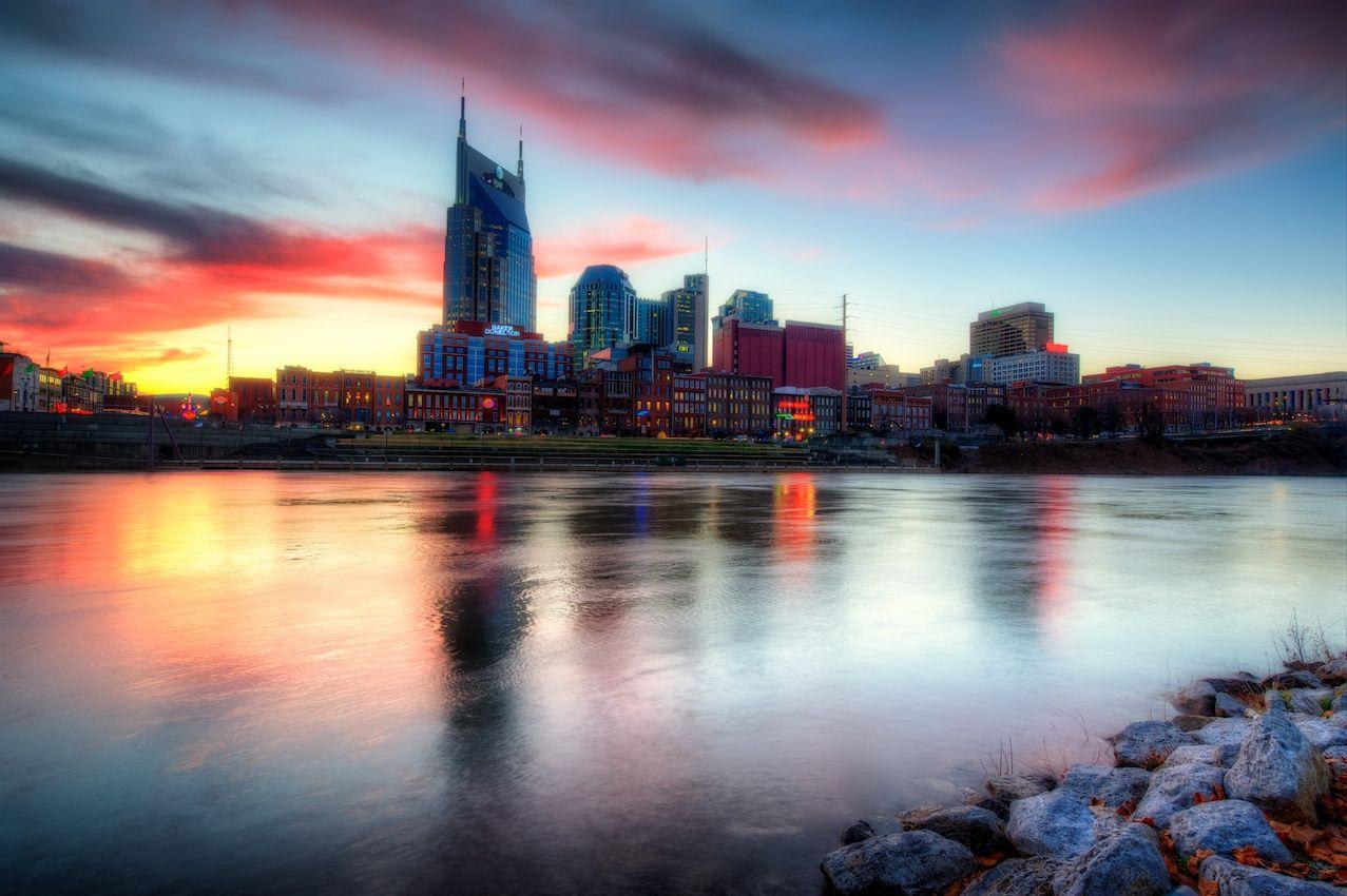 Painting The Nashville Skyline Nashville Skyline Skyline Painting Landscape Photography