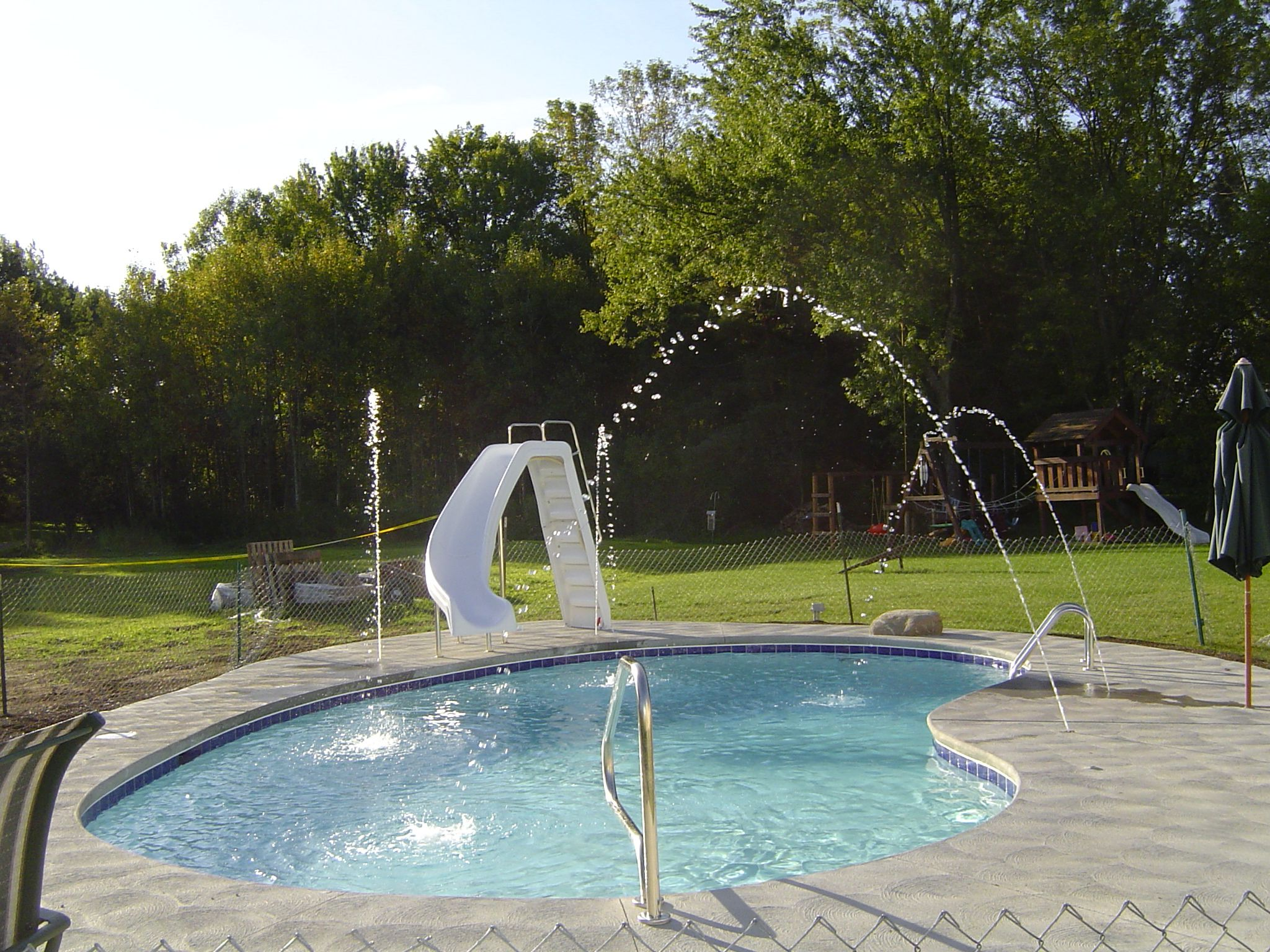 deck jets water falls and water features pinterest decking