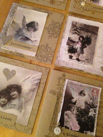 Kort og søm: Mange julekort!