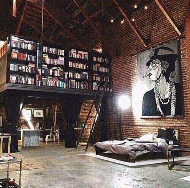 Decorating Loft Spaces: Loft Interiors