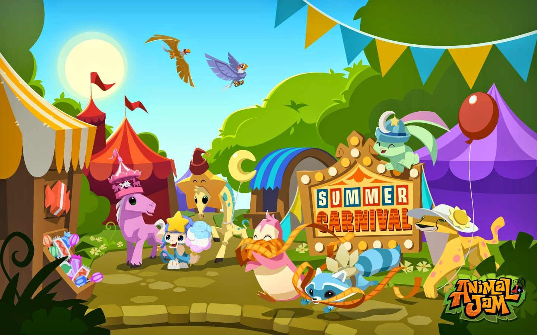 Animal Jam Spirit Blog Summer Carnival Fun & Pearl