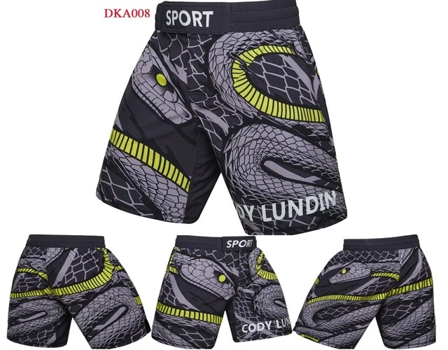 High Quality Muay Thai Spiderman Black Panther And Flash Shorts Fighters Center El Castigador