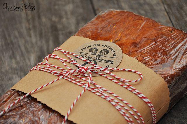 Banana Bread Recipe Bread Gifts Bread Packaging