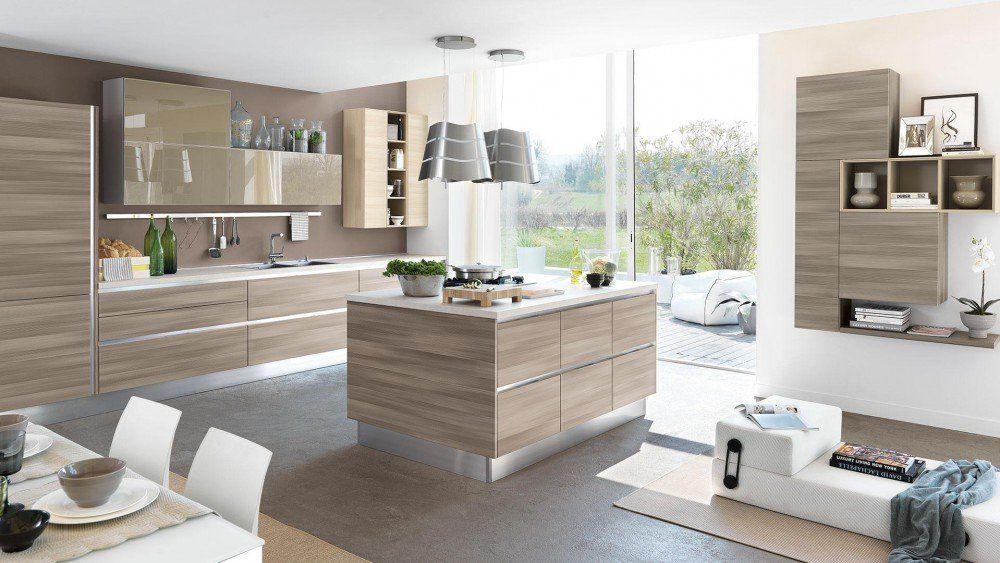 Open Space 35 Mq Progettare Soggiorno Cucine Moderne ...