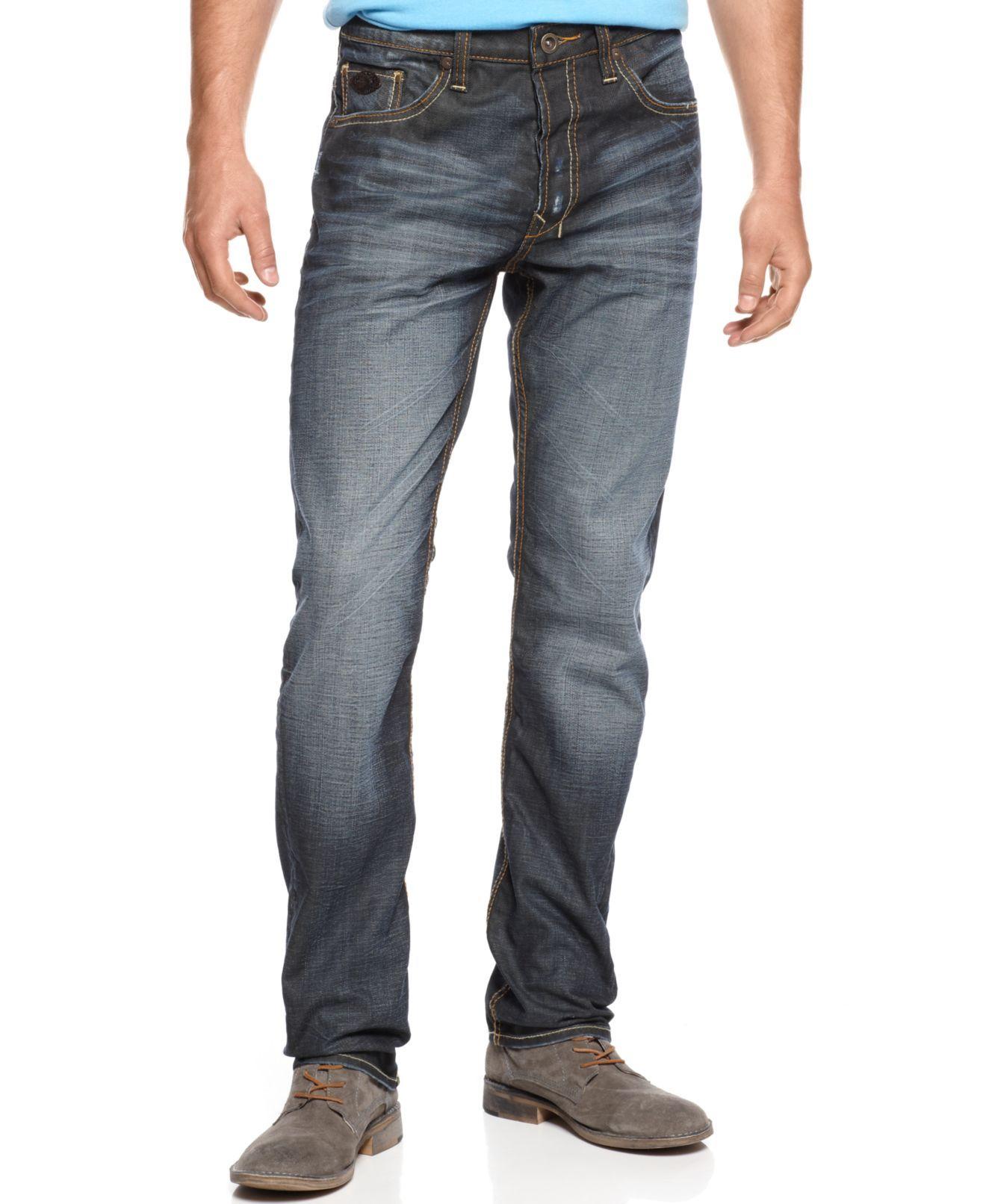 06d4d00d Buffalo David Bitton Jeans, Evan Super Slim Fit - Mens Young Men's - Macy's