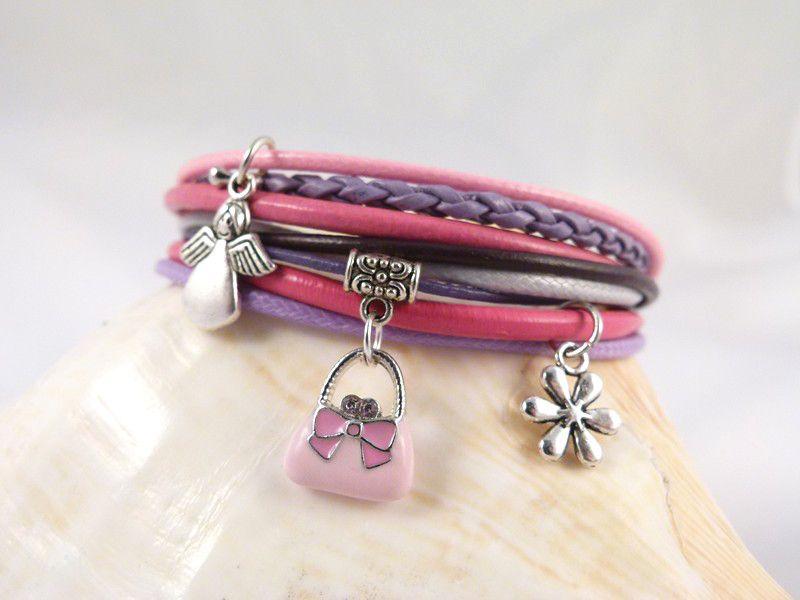 #Leather bracelet $10  http://taki-drobiazg.pl/B94