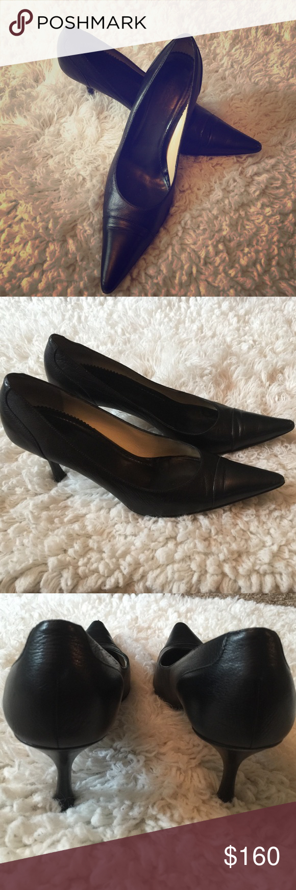 a4b067fcc77 Selling this Gucci leather pointed to pumps. Sz11 on Poshmark! My username  is  fherin.  shopmycloset  poshmark  fashion  shopping  style  forsale   Gucci   ...