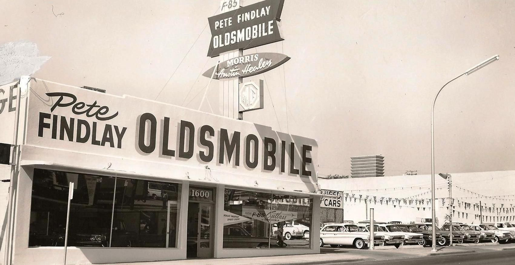 Our Patriarch S First Store In Las Vegas Pete Findlay Oldsmobile