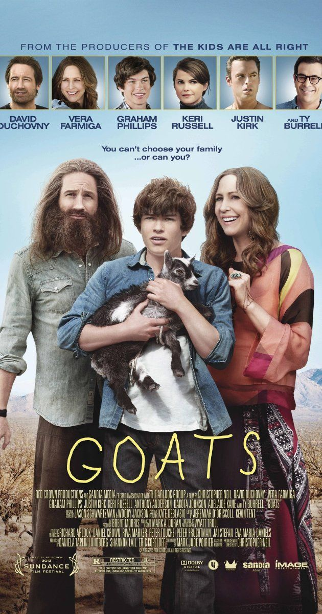 Directed by Christopher Neil. With David Duchovny, Vera Farmiga, Graham Phillips, Justin Kirk. As Ellis prepares to leave Tucson for his freshman year at an East Coast prep school, he also faces separating from his flaky, new age mother and the only real father he has ever known: Goat Man.