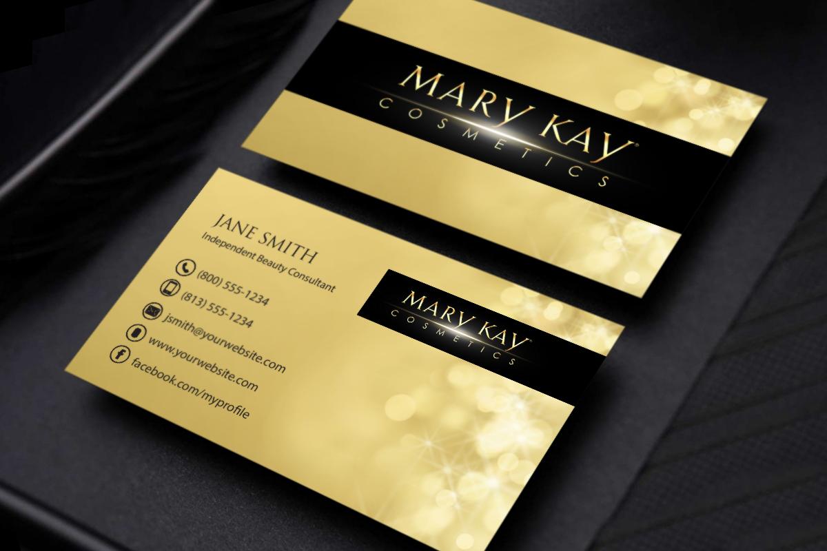 Mary Kay Business Cards Mary kay business cards, Mary