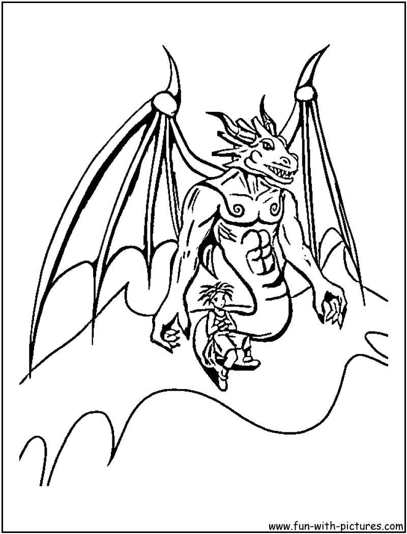 Ender Dragon Coloring Pages Free Printable Minecraft