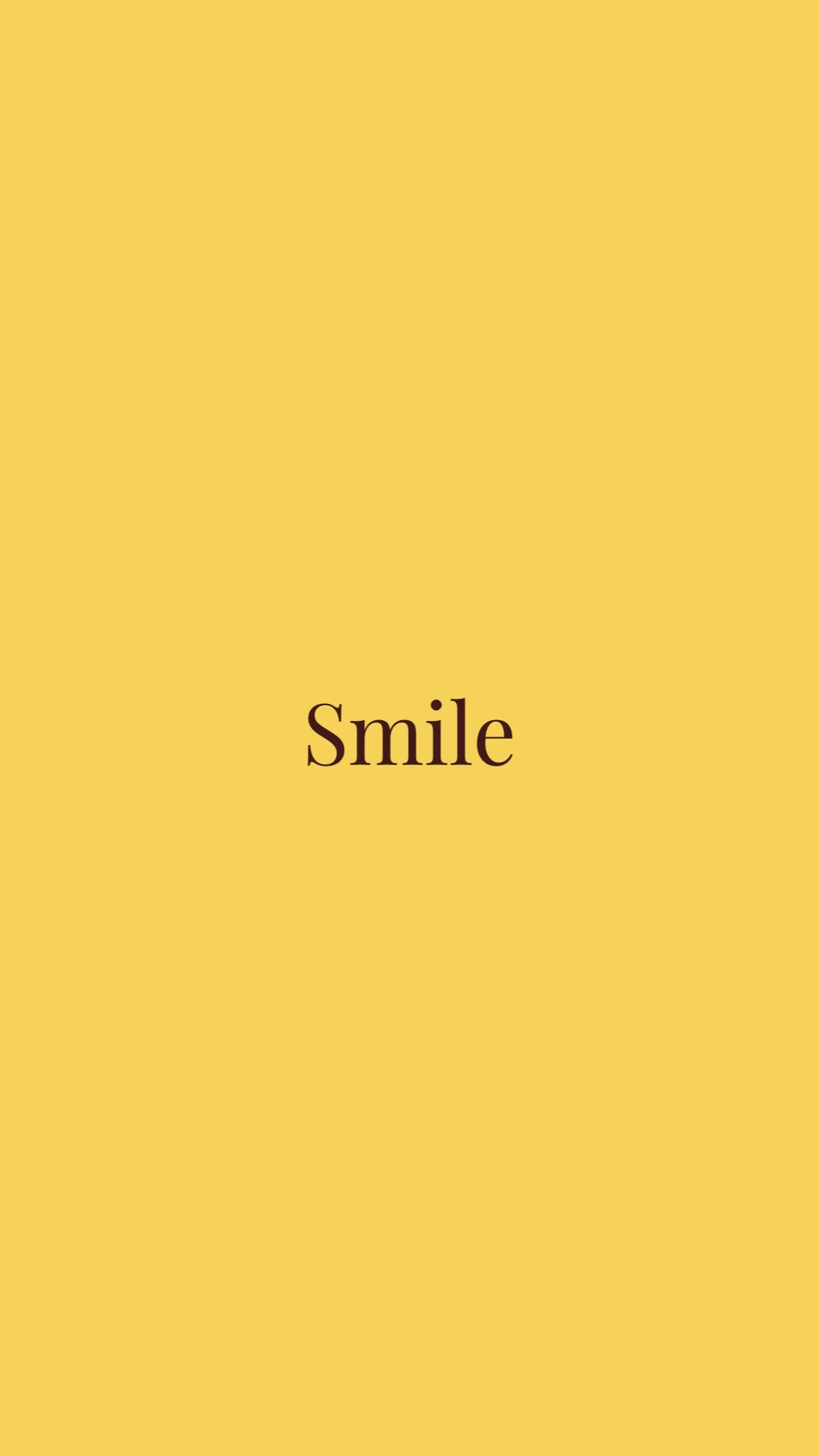 Smile Yellow Quotes Lovely Yellow Quotes Iphone