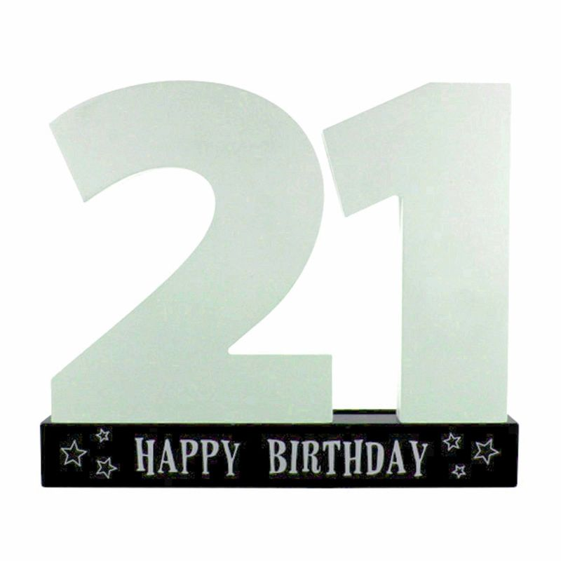 21st Signature Age Plaque Make Great Birthday Gifts Have Your Family And Friends Sign The Number As A Memory Forever Fast UK Delivery