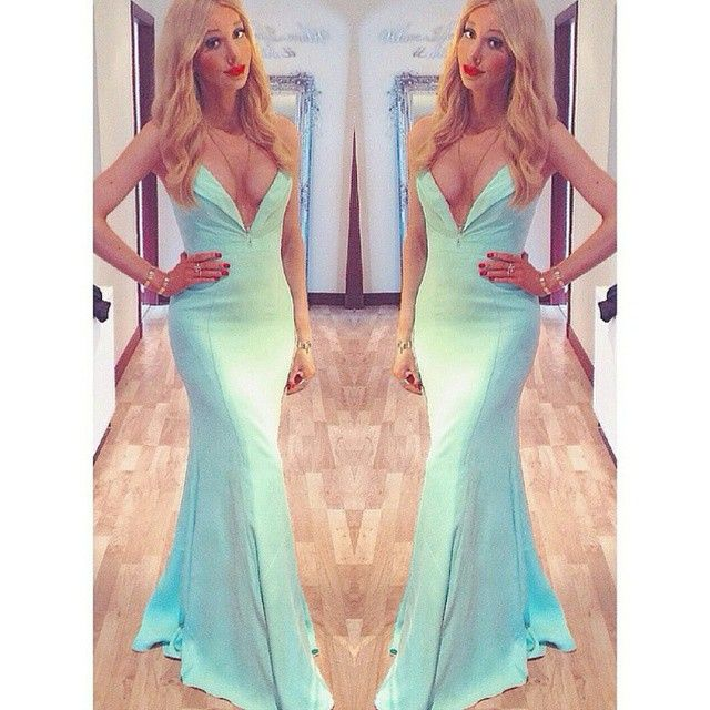 What a beautiful #look! Glamorous fashion blogger @lucy_bannerman rocked our #JarloLondon #HighSummer15 #Helena maxi #dress in mint at the #ball she attended recently ~ simply killed it! Thanks for sharing!