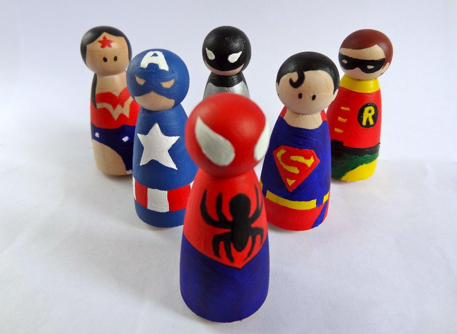 Spielfiguren game pinterest miniaturen f r puppenh user holzfiguren und jute - Spielfiguren basteln ...