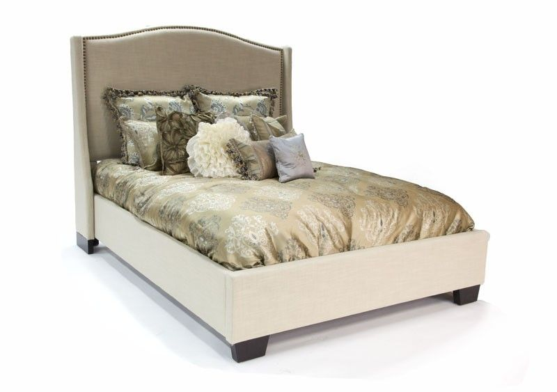 $500 Linen Bellagio Vintage Queen Bed   Beds   Bedroom | Mor Furniture For  Less