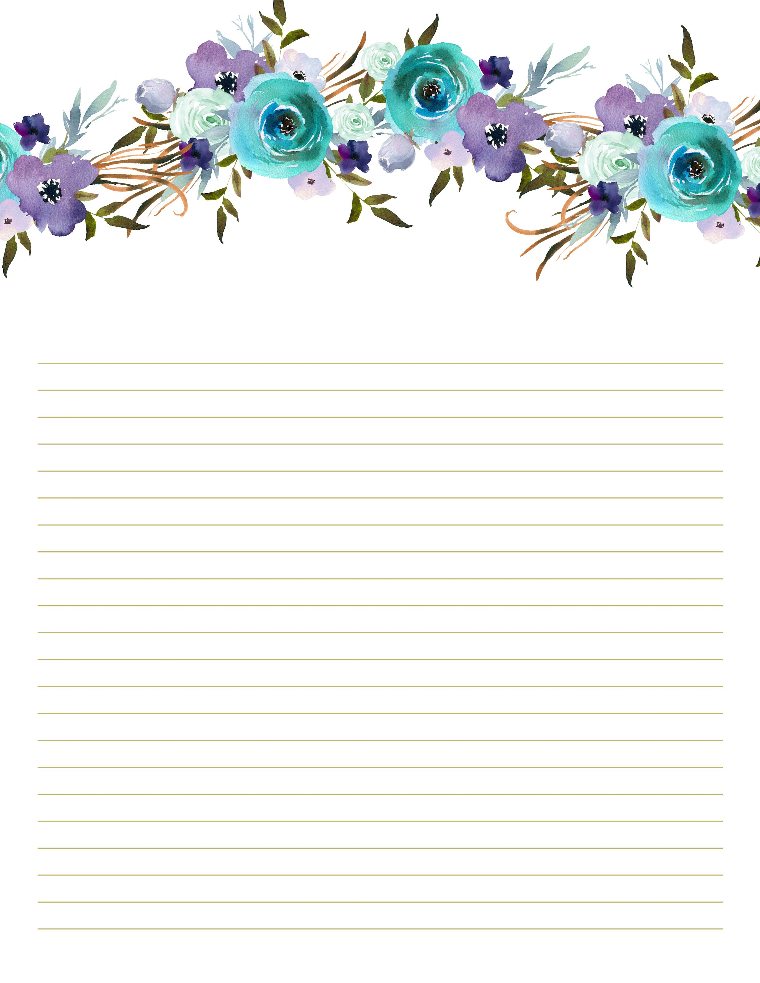 Rustic Floral Printable Letter Writing Paper Set Printable Etsy In 2021 Writing Paper Printable Stationery Free Printable Stationery Letter Writing Paper Letter writing paper free printable