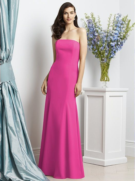 Dessy Collection Style 2935 (shown in fuchsia)