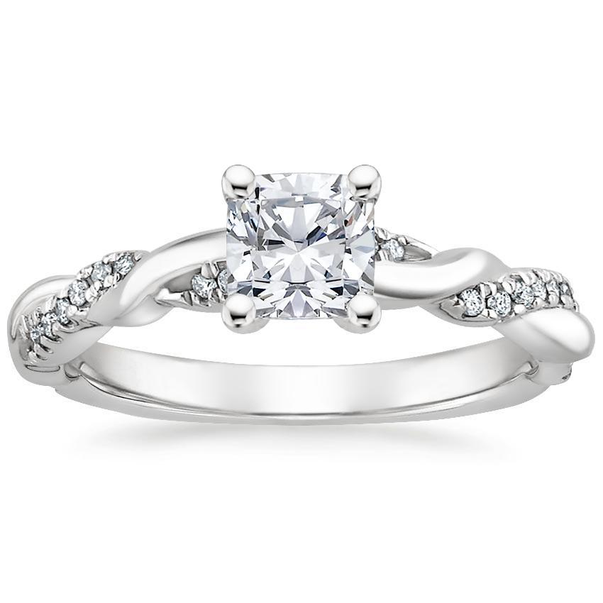 Platinum Tressa Diamond Ring Diamond Engagement Rings White Gold Eternity Ring