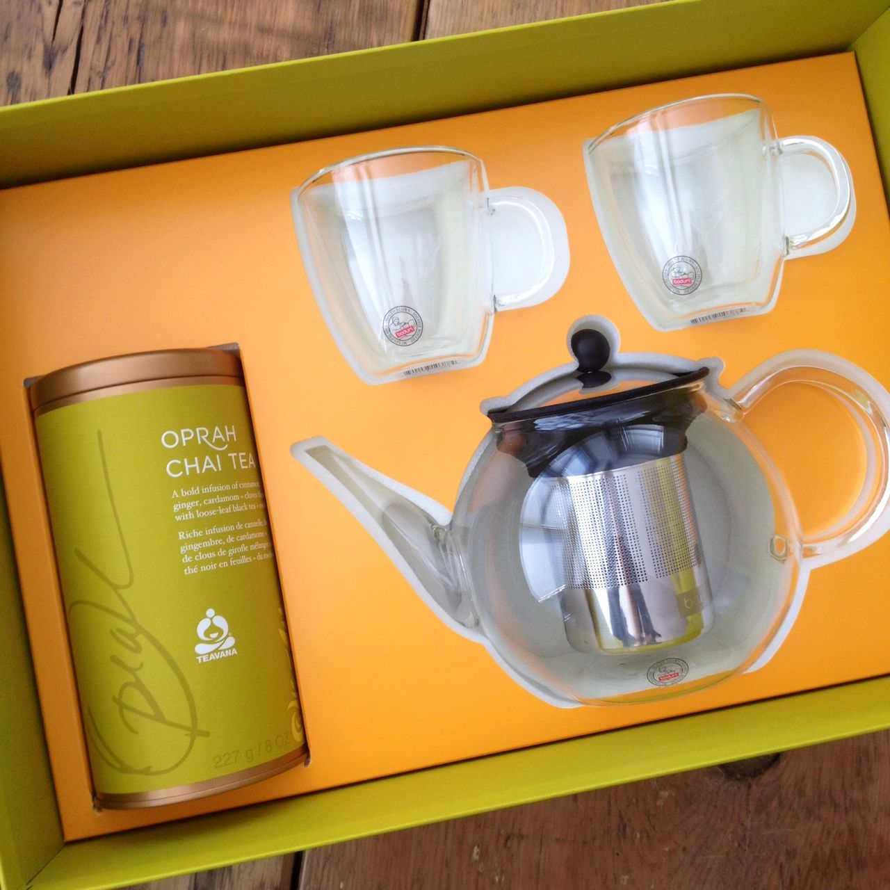 Enter to win this Oprah Chai Tea #giveaway from @Cooking Contest Central!