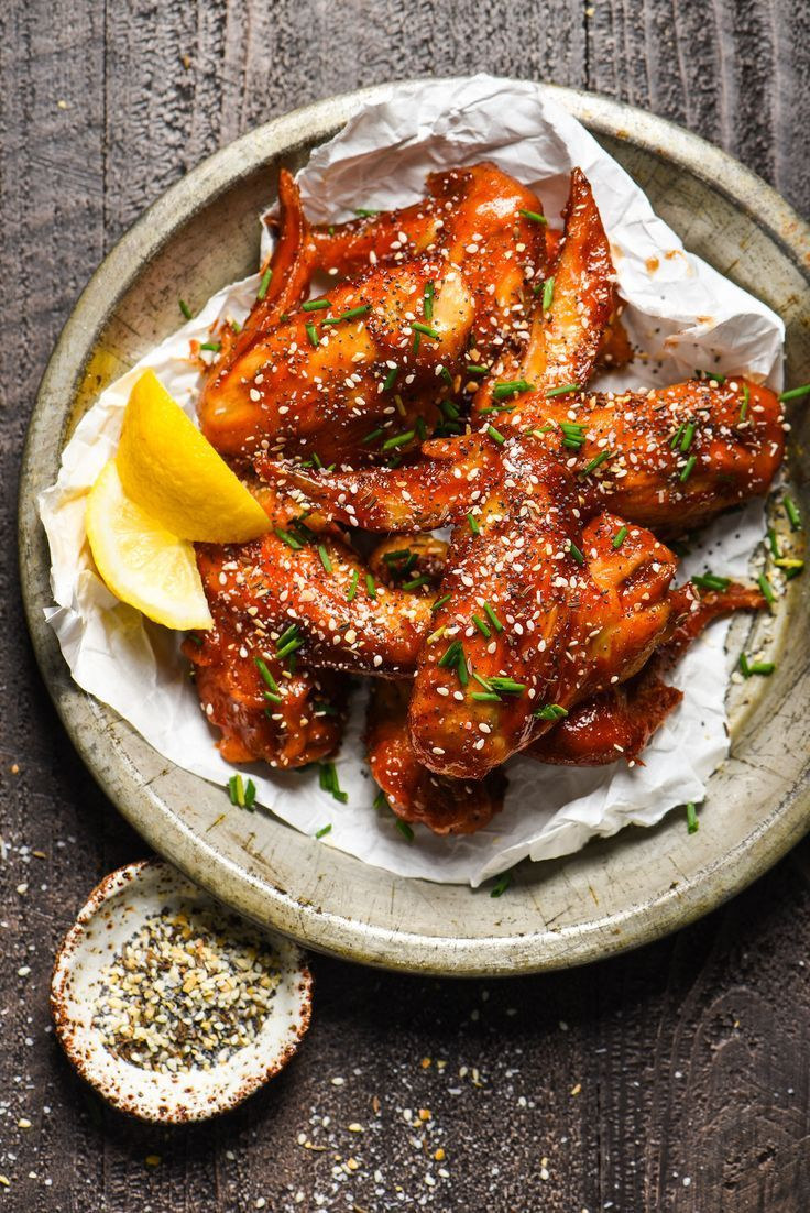 Everything Bagel Chicken Wings   http://foxeslovelemons.com